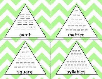 Fry 6th 100 Pyramid Writing Practice