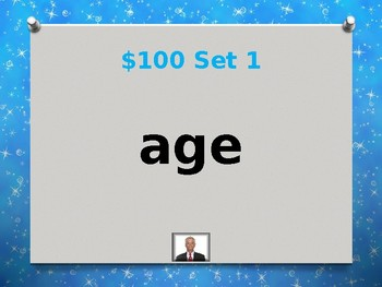 Fry 7th 100 Sight Words Jeopardy Power Point #2