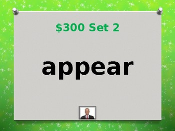 Fry 7th 100 Sight Words Jeopardy Power Point #4