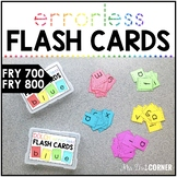 Fry 800 Errorless Flash Cards   Spelling Task Box for Fry