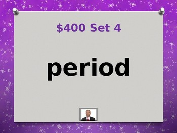 Fry 8th 100 Sight Words Jeopardy Power Point #2