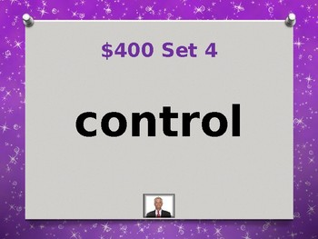 Fry 8th 100 Sight Words Jeopardy Power Point #4