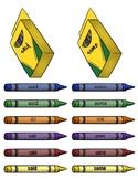 Fry Crayon Sight Words