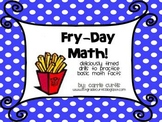 Fry-Day Math: Timed Math Addition Practice