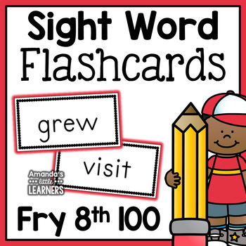 Fry Eighth Hundred Sight Word Flashcards