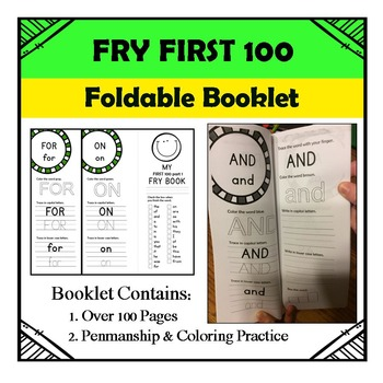 Fry First 100 Booklet