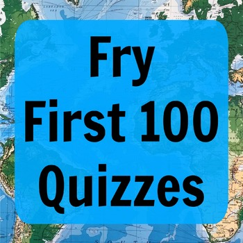 Fry First 100 Quizzes (ESL)