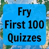 Fry First 100 Quizzes (ESL - PDF)