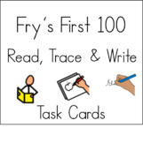 Fry First 100 Read Trace and Write Task Cards