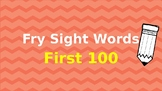 Fry First 100 Sight Words