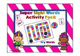 Fry First 100 Sight Words Activity Pack (Troll Theme)