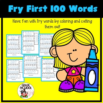 Fry First 100 Words