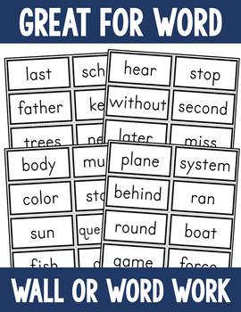 Sight Word Flashcard Bundle - Fry First 500