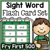 Sight Word Flashcard Bundle - Fry First 500
