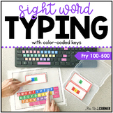 Fry First 500 Sight Word Keyboarding | Sight Word Activiti