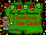 Fry First Hundred Christmas I Spy Cards