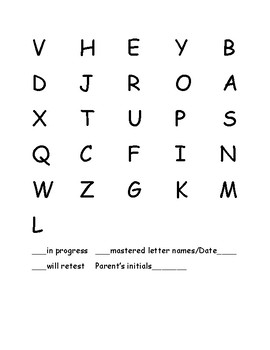 Fry First Hundred Reading Words, Sentences, and Alphabet Folder
