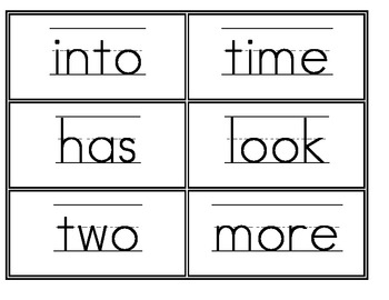 Fry First, Second, and Third 100 Word Wall Words BUNDLE