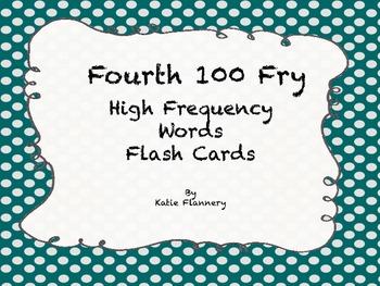 Fry Flash Cards (fourth 100)