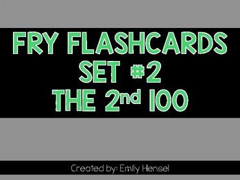 Fry Flashcards Set #2