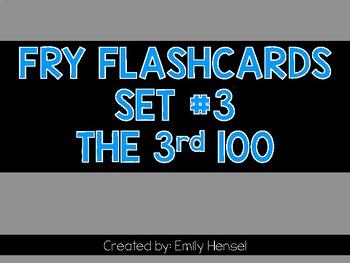 Fry Flashcards Set #3