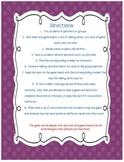 Fry Fluency Phrase Game First 100 4th Gr Phrases- Partner, Center, Intervention