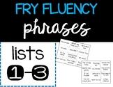 Fry Fluency Phrase Pack