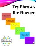 Fry Fluency Phrases - 1st through 6th Hundred!