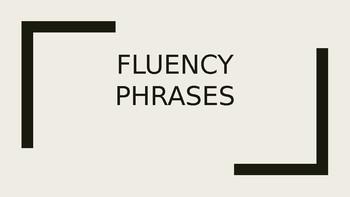Fry Fluency Phrases