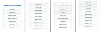 Fry Fluency Phrases: Flashcards 2nd Hundred