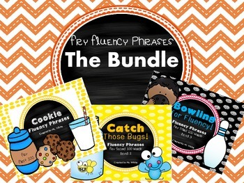 Flying Through Fluency!  {The Bundle of Fry Phrases}