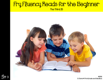 Fry Fluency Reads (The Third 25)