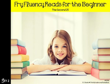 Fry Fluency Reads (The Second 25)