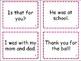 Fry Fluency Sentence Flash Cards
