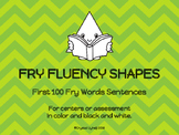 Fry Fluency Shapes - First 100