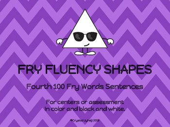 Fry Fluency Shapes - Fourth 100