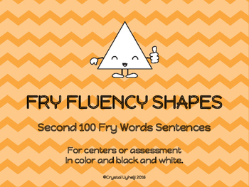 Fry Fluency Shapes - Second 100