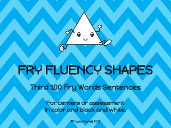 Fry Fluency Shapes - Third 100