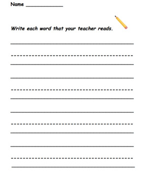 Fry HFW Match It Activity Packet and assessment