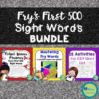 Fry's High Frequency Words Bundle
