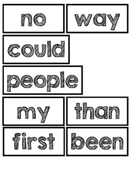 Fry High Frequency Word Wall Bundle