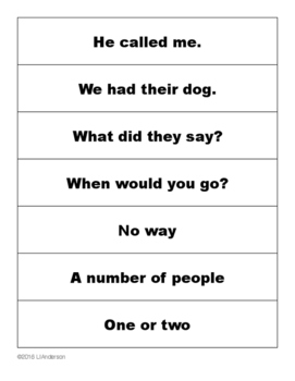Fry Instant Phrases Cards