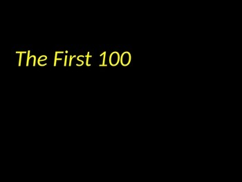 Fry Instant Phrases (First 100) Powerpoint