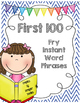 Fry Instant Word Phrases FIRST 600 WORDS