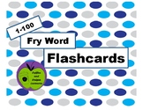 Fry Instant Words Flashcards 1-100