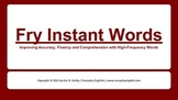Fry Instant Words Presentation