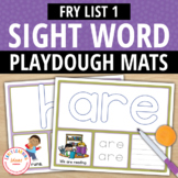Fry List 1 Sight Word Play Dough Activity Mats