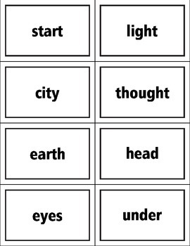 Fry List Third Hundred Words Flash Cards