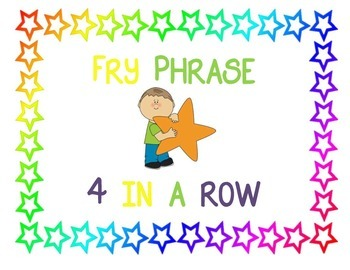 Fry Phrase 4 In a Row
