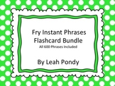 All 600 Fry Instant Phrases Bundle